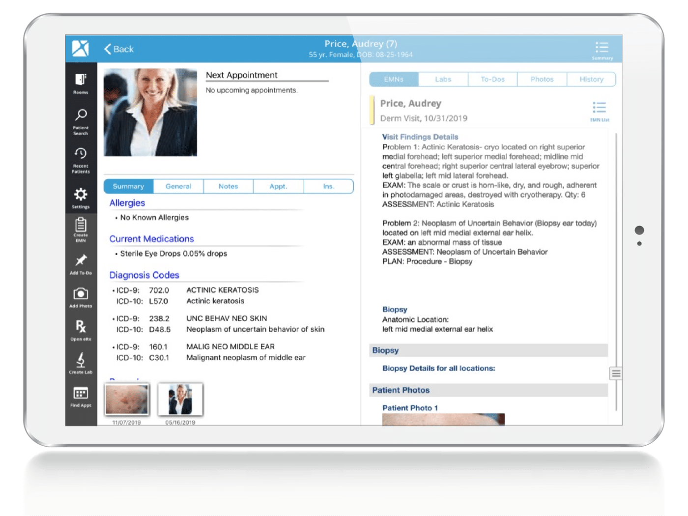Dermatology EHR Regulatory Compliance