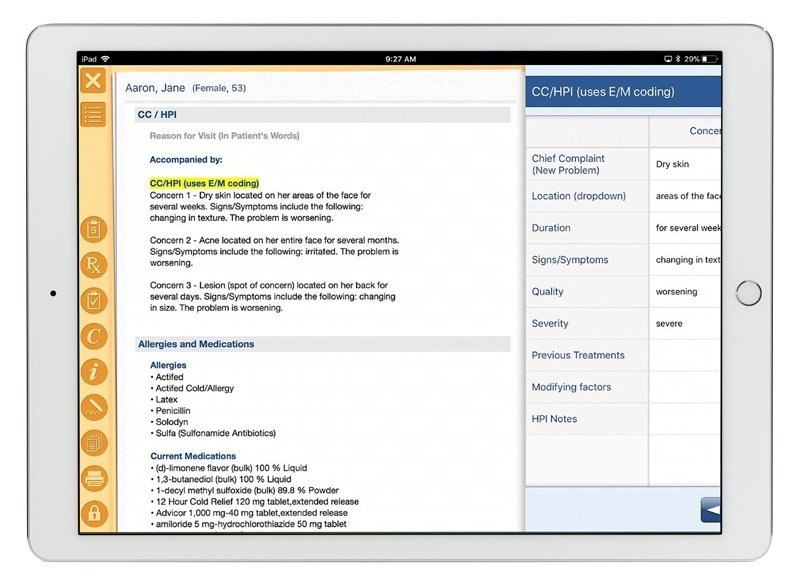 EMR Software iPad