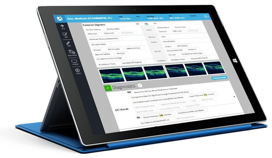 IntelleChartPRO Ophthalmology EMR