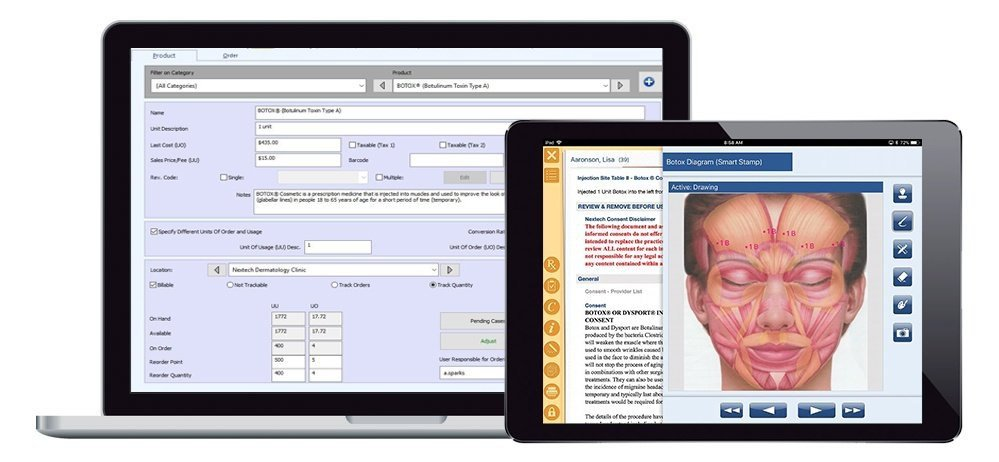 Medical Spa Software Inventory Botox