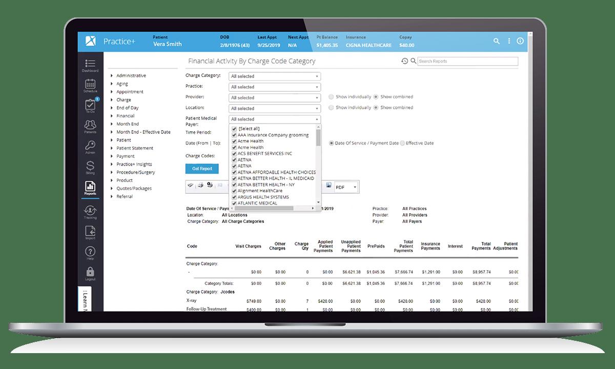 Orthopedics Practice Management Reporting & Analytics