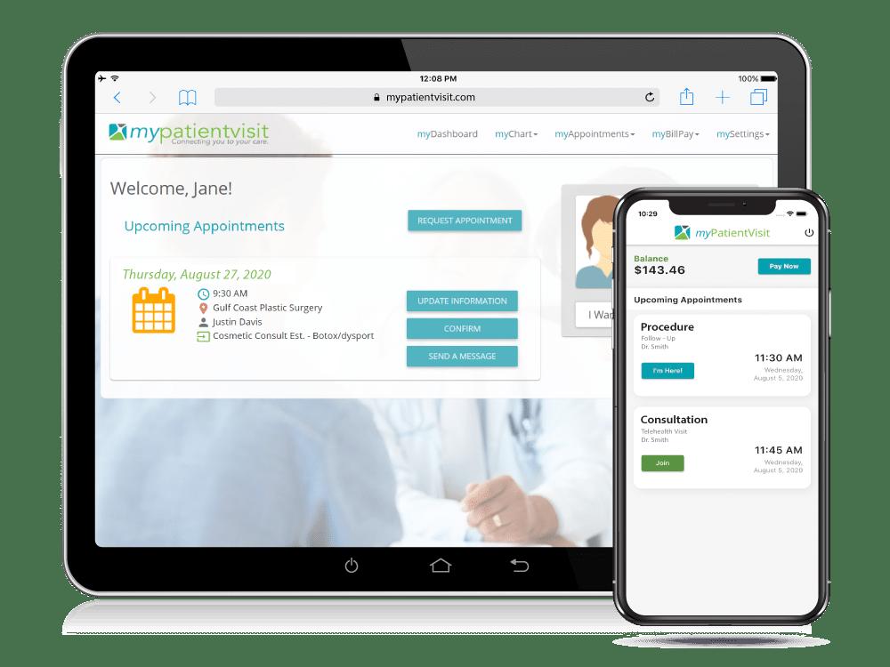 Plastic Surgery Practice Management Custom Patient Portal & Mobile App&_Mobile_App
