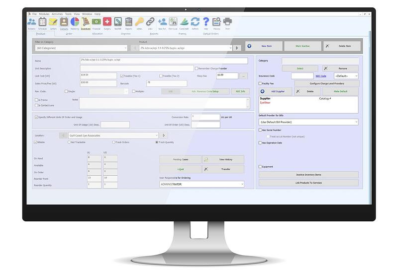 Practice-Management-Software-Optical-Shop