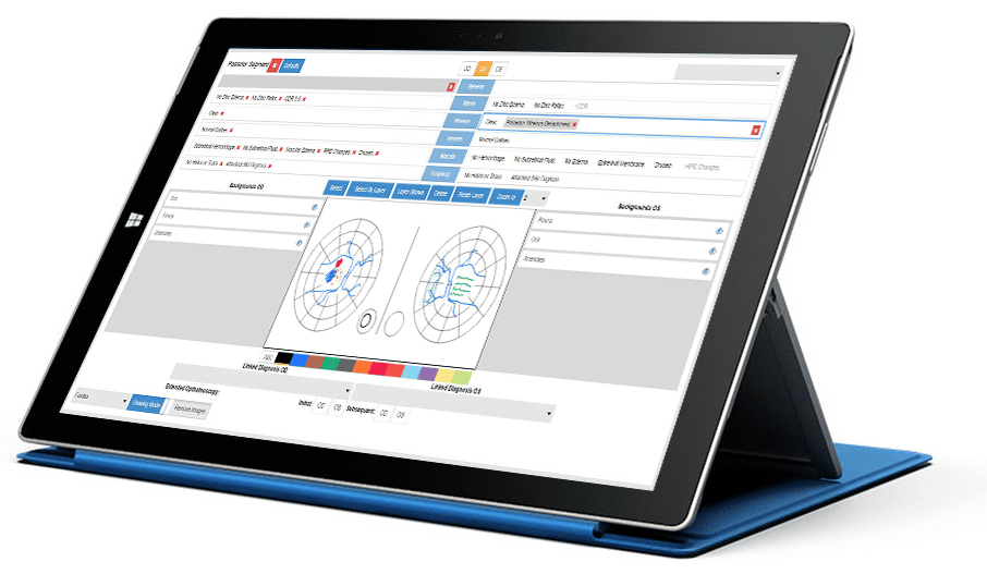 Nextech IntelleChart EMR Drawing Software