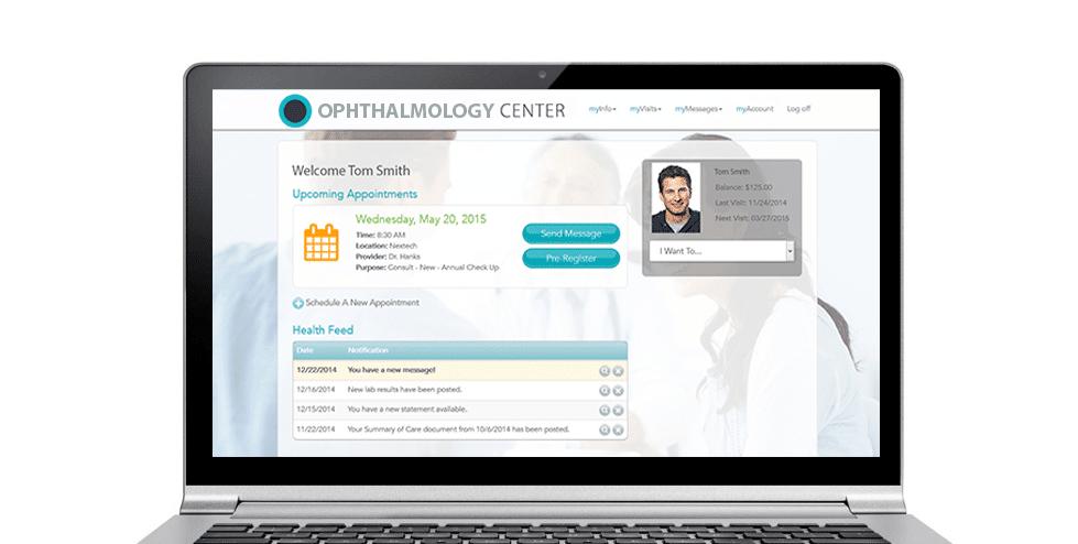 Nextech Ophthalmology Patient Portal