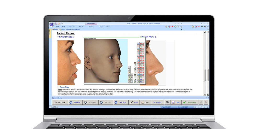 Plastic Surgery EMR Software