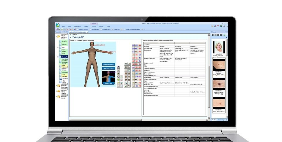 Dermatology EMR Software