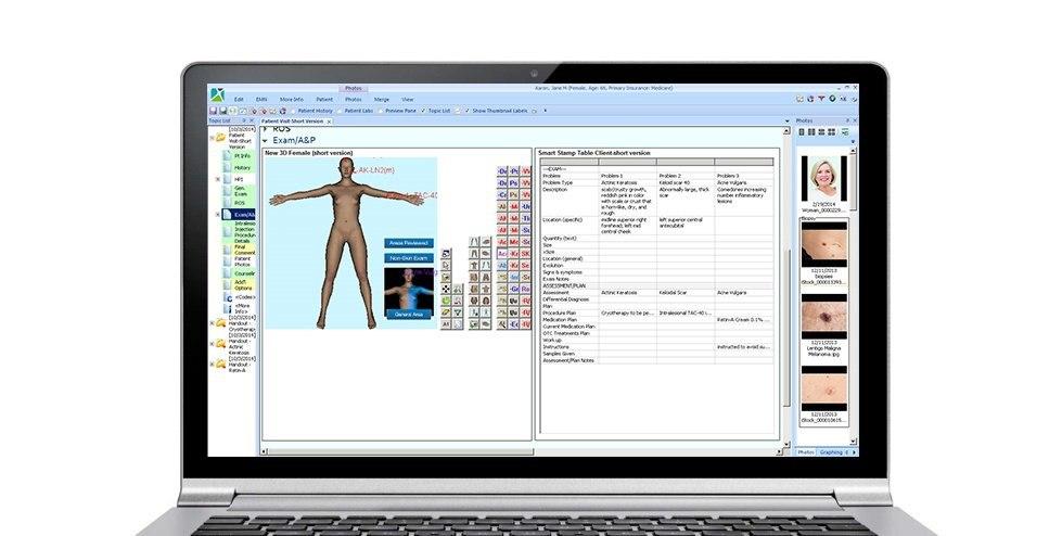 Dermatology EMR Software