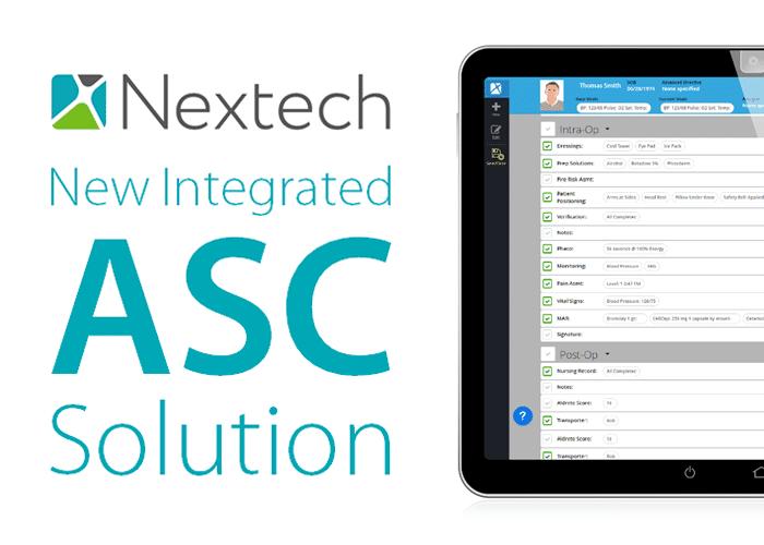 Nextech Announces Integrated ASC Solution